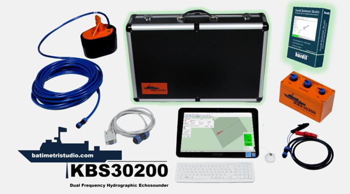 KBS30200 Tekhüzmeli Çift Frekans Akustik İskandil (Singlebeam Echosounder)