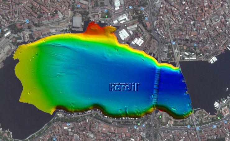 Multibeam Bathymetric Map (Multibeam Batimetri Harita)